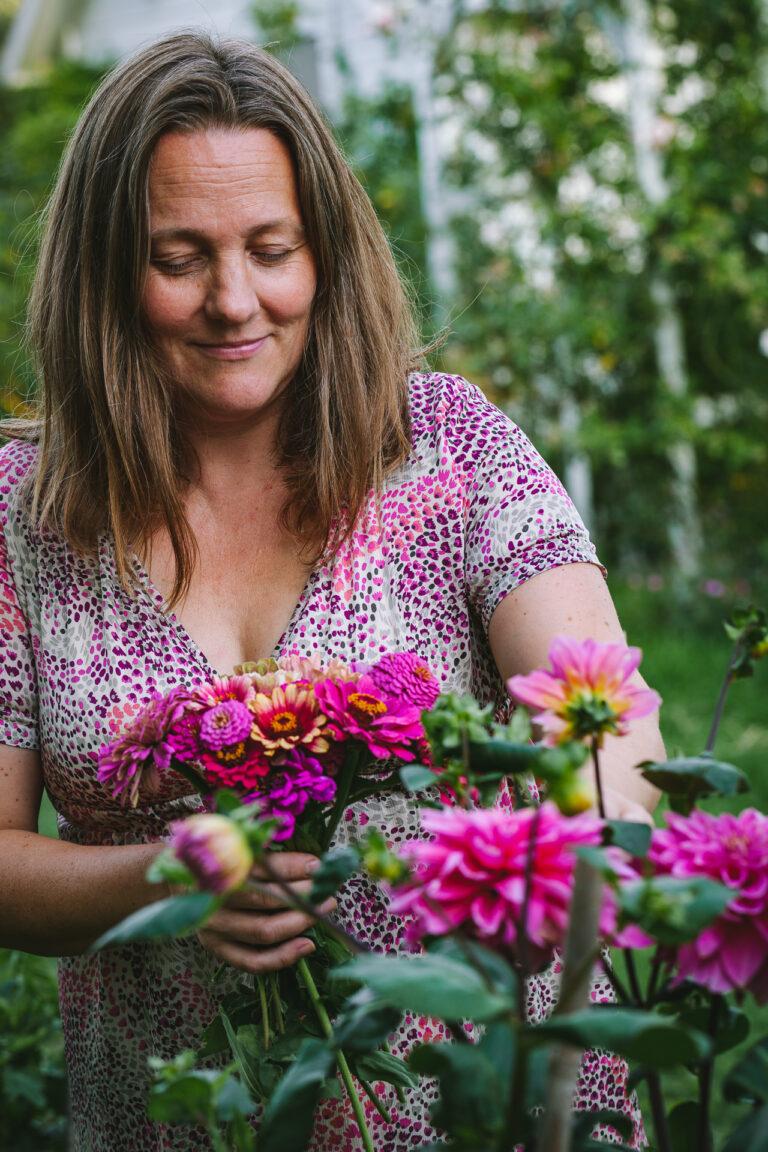 Porträtt Mari - Öppen Trädgård