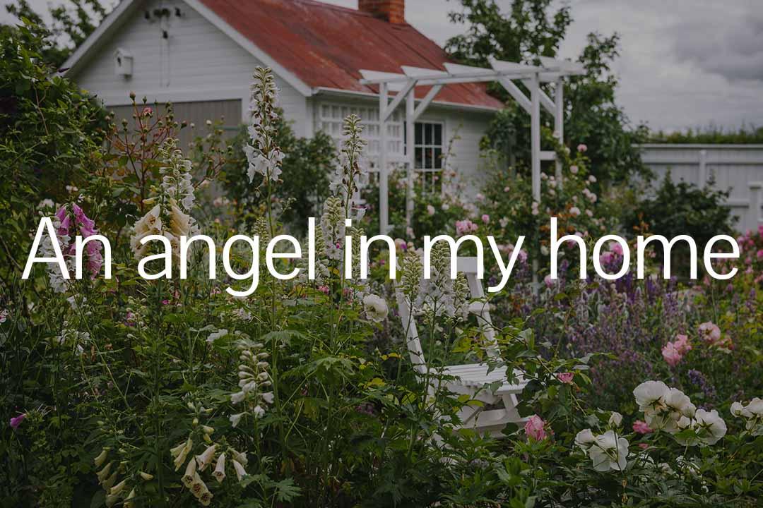 Öppna trädgårdar länk till An angel in my home
