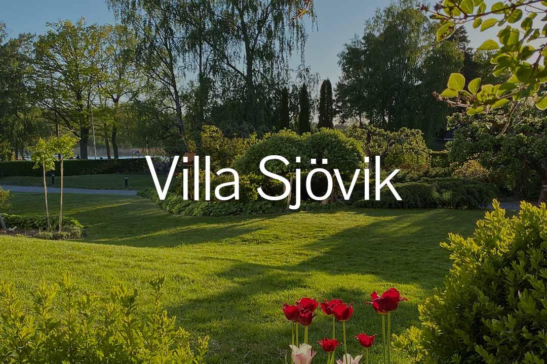 Öppna trädgårdar länk till Villa sjövik