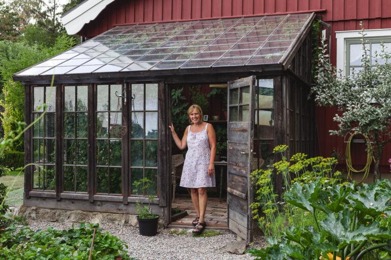 Porträtt på Pia - Öppen Trädgård